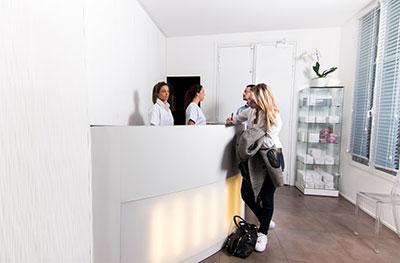 Tarif des actes de médecine esthétique et laser au Centre Victoire Haussmann à Paris